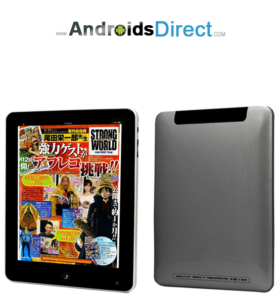 VIA012 8 Inch Google Android Tablet